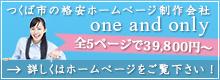 ホームページ制作 one and only